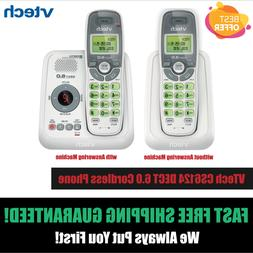 1 Handset Cordless Home Phone Vtech Dect 6.0 Telephone