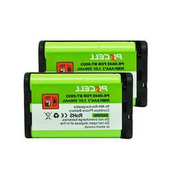 2 Cordless Phone Battery Replacement AAA 800mAh 3.6V Uniden
