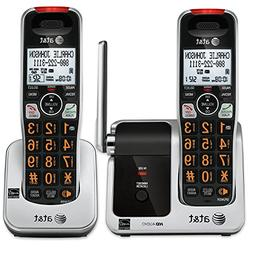AT&T 2 HANDSET CORDLESS TELEPHONE FOR VISION & HEARING CHALL