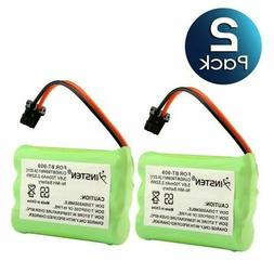 2 pcs Rechargeable Cordless Phone Battery for Uniden BT909 B