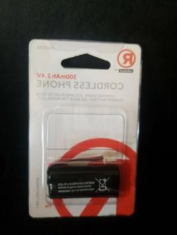 RadioShack  Cordless Phone ONLY ONE Battery Pack 300 mAh 3.4