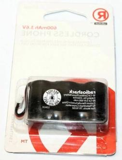 Radioshack 2302354 600MAh 3.6V Battery Replacement for GE 5-