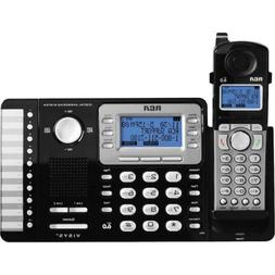 RCA 25252 2-Line Cordless Phone & Digital Answering System D