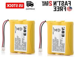 2Pcs Cordless Phone Battery for Vtech 80-5071-00-00 AT&T/Luc