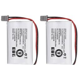 2x BT-1007 Cordless Phone Rechargeable Battery For Uniden BT