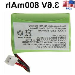 3.6V 800mAh Phone Cordless NI-MH Battery for Motorola MD4250
