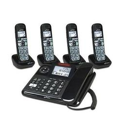Clarity 40dB Amplified Corded-Cordless Phone Answer Machine