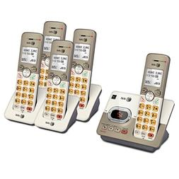 AT&T 5 Handset DECT 6.0 Cordless Phone Bundle with  EL52313
