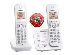 6.0 2-Handset Cordless Phone with Call Block and Answering S
