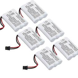 6 X Home Cordless Phone Battery for Uniden TCX905 TRU-448 TR