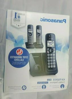 Panasonic KX-TGD513 Expandable Cordless Phone with Call Blo