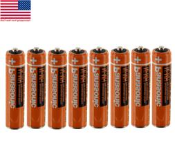8Pack Panasonic AAA NI-MH 1.2V Rechargeable Batteries 550mAh