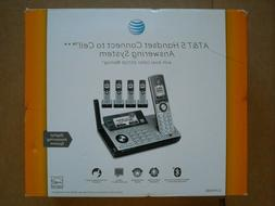 AT&T CLP99586 DECT 6.0 5 Handset Cordless Phones With  Answe