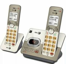 AT&T EL52213 2-Handset Expandable Cordless Phone with Answer