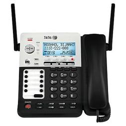 AT&T SynJ SB67158 DECT 6.0 4-Line Corded/Cordless Small Busi