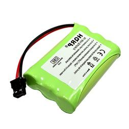 HQRP Cordless Phone Battery compatible with Uniden PowerMax