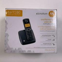 Motorola DECT 6.0 Cordless Phone with 1 Handset and Caller I