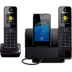 Panasonic KX-PRD262B Link2Cell Digital Phone with Smartphone
