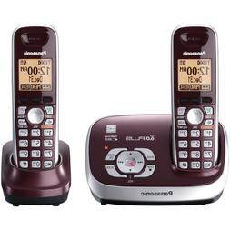 Panasonic KX-TG6572R DECT 6.0 Cordless Phone with Answering