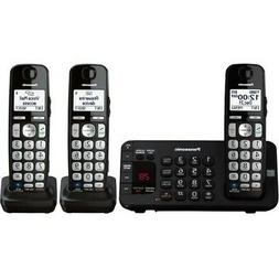 Panasonic KX-TGE243B DECT 6.0 Expandable Digital Cordless An