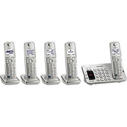 Panasonic KX-TGE275S 5-Cordless Handsets Link2Cell Bluetooth