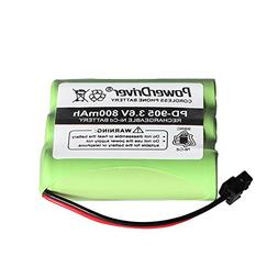 PowerDriver Cordless Home Phone Rechargeable battery for Uni