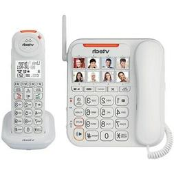 Amplified Corded/Cordless Answering System with Big Buttons