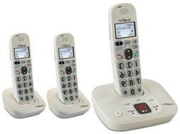 CLARITY Clarity amplified/low vision cordless phone plus 2 h