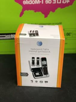 AT&T Answering System with 3 Cordless Handsets
