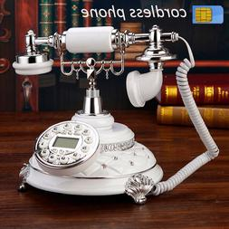 Antique archaic 4G support GSM 900 1800MHz SIM Card Fixed <f