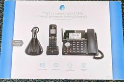 AT&T 2-line Connect to Cell Corded/cordless Answering System