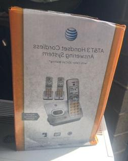 AT&T 3 Handset Cordless Phone Answering System   New