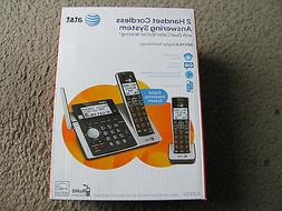 AT&T CL83213 2 Handset Cordless Answering System w/ Dual Cal