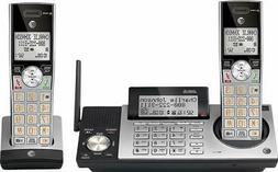 AT&T CL83215 DECT 6.0 Expandable Cordless Phone System 2-Han
