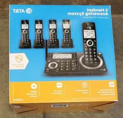AT&T CL83519 5 Handset Answering System Cordless Telephone *
