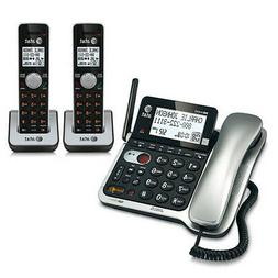 AT&T CL84202 DECT 6.0 Digital Expandable 3 Handset Corded /