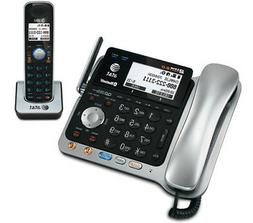 AT&T TL86109 1.9GHz Corded / Cordless Phone Combo W / Digita