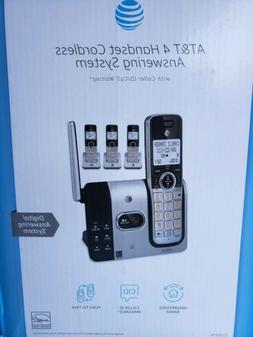 ATT 4 Handset Cordless Answering System CL82414 With Caller