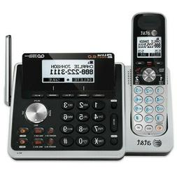 AT&T 2-Line Answering Machine System 4 Cordless Phone Handse