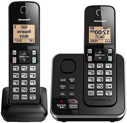 Panasonic Black Expandable Cordless Phone And Answering Mach