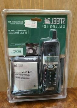 BRAND NEW Southwestern Bell Brushed STEEL Cordless 2.4 GHz P