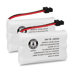 QTKJ BT-446 BT-1005 Cordless Phone Battery Compatible Uniden