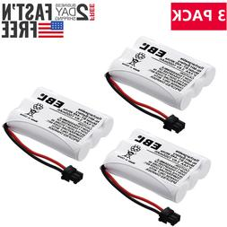 3 x 3.6V 1000mAh BT-446 Cordless Phone Battery For Uniden BP