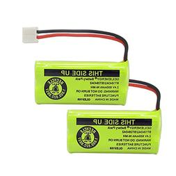 GEILIENERGY 2.4V Rechargeable Batteries Compatible with AT&T