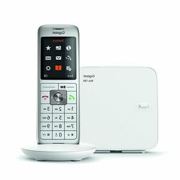 Gigaset CL660 Analog/Dect Cordless Telephone White Caller Id