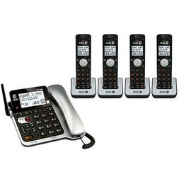 AT & T CL84102 DECT 6.0 Five Handset Corded/Cordless Phone w