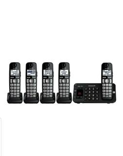 Panasonic cordless 5 handsets talking caller id