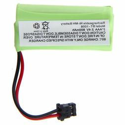 2 pcs Cordless Home phone battery For Uniden BT-1021 BT-1025