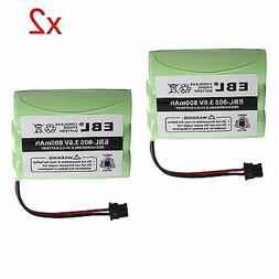 2pack 800mAh Cordless Home Phone Battery For Uniden BT-800 B