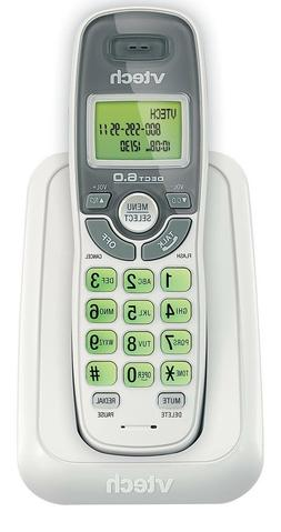 Cordless Vtech Phone Caller ID/Waiting Handset White Wall Mo
